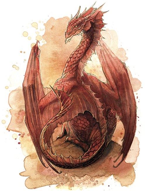 500x654 Red Dragon Drawing. Dragons Pinterest Dragon Drawings, Red
