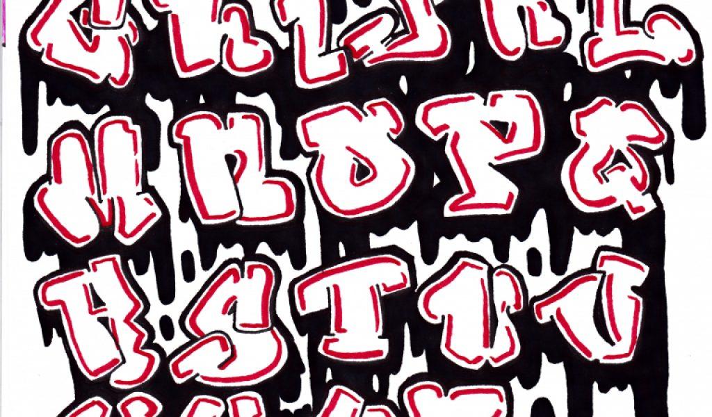 1024x600 Cool Graffiti Fonts To Draw