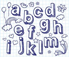 236x195 Hand Lettering Font Free Hand Drawn Font