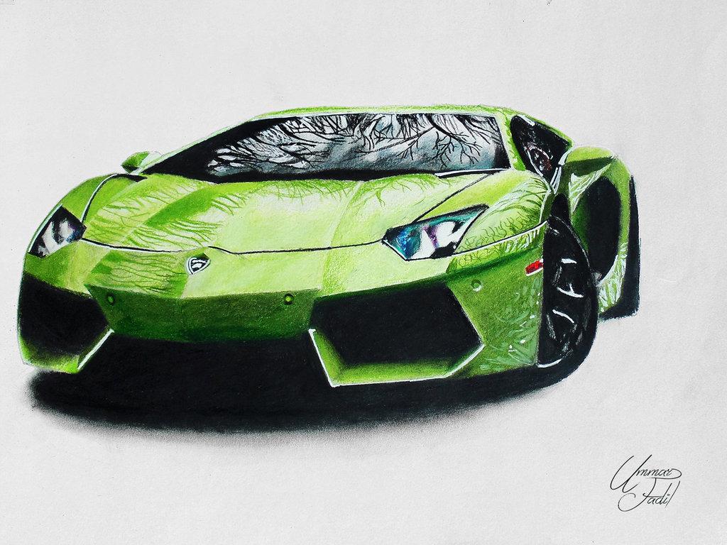 1024x768 Drawing Cars 1