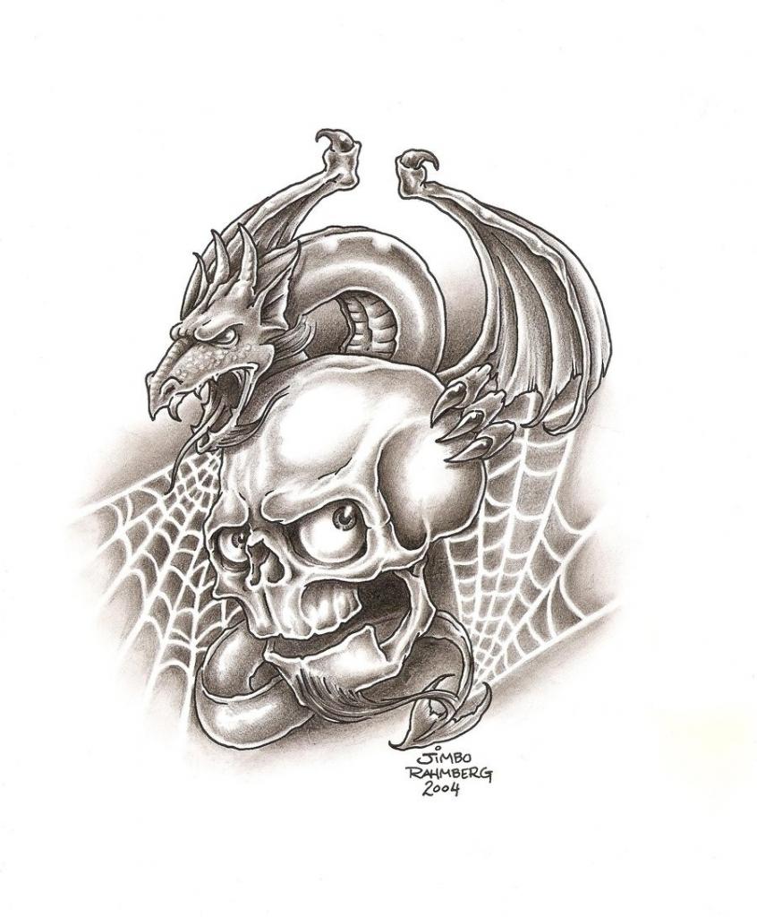 846x1024 Drawings Of Dragons Cool Drawings Of Dragons And Skulls 3