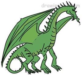 269x246 How To Draw Dragons Drawing Tutorials Amp Drawing Amp How To Draw