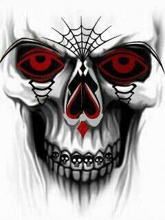 240x320 Cool Skull