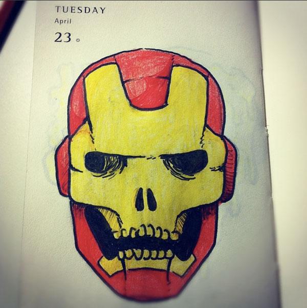 Cool Drawing Of Skulls At GetDrawings