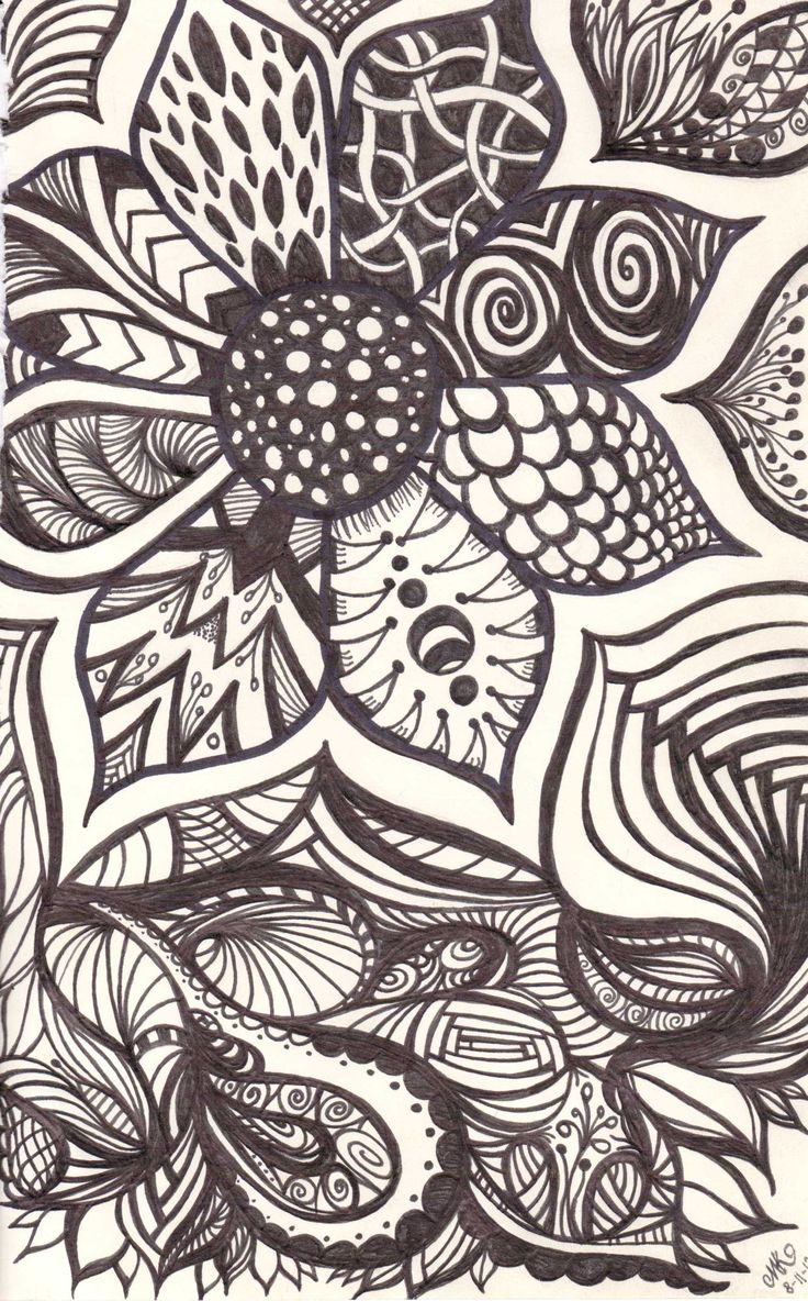 736x1184 Cool Drawing Patterns Beautiful Sharpie Doodles Ideas