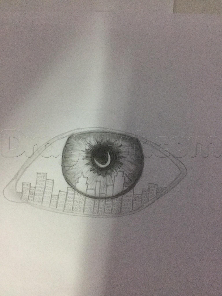 768x1024 Cool Drawings Of Eyes Cool Eye Drawings How To Draw An Eye