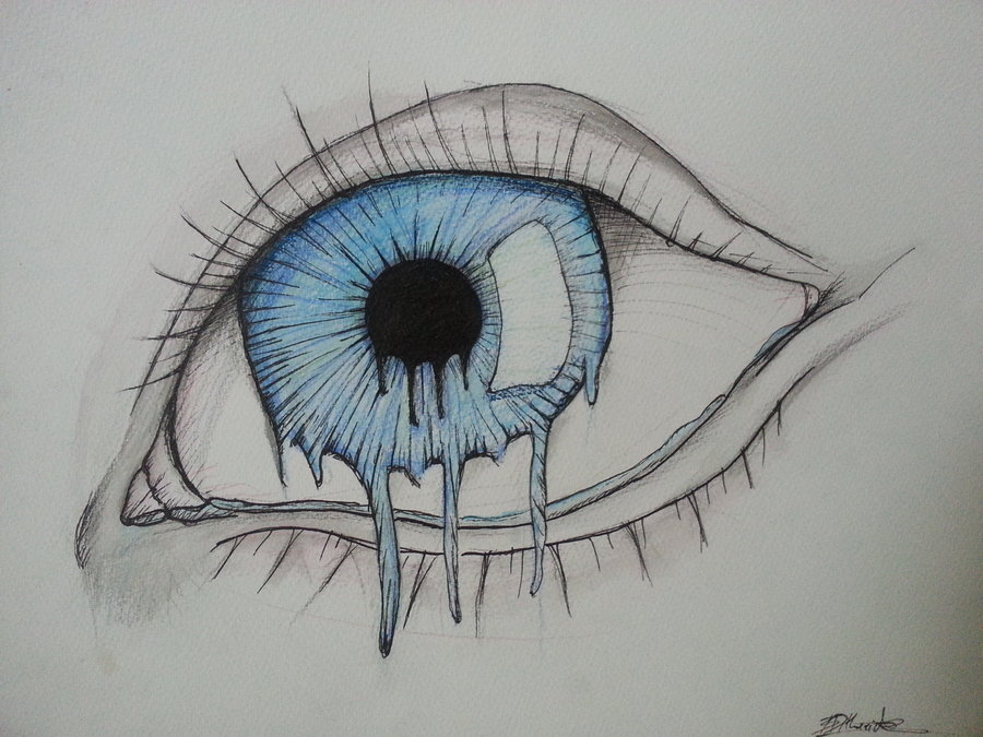 900x675 Melting Eye By Brynios