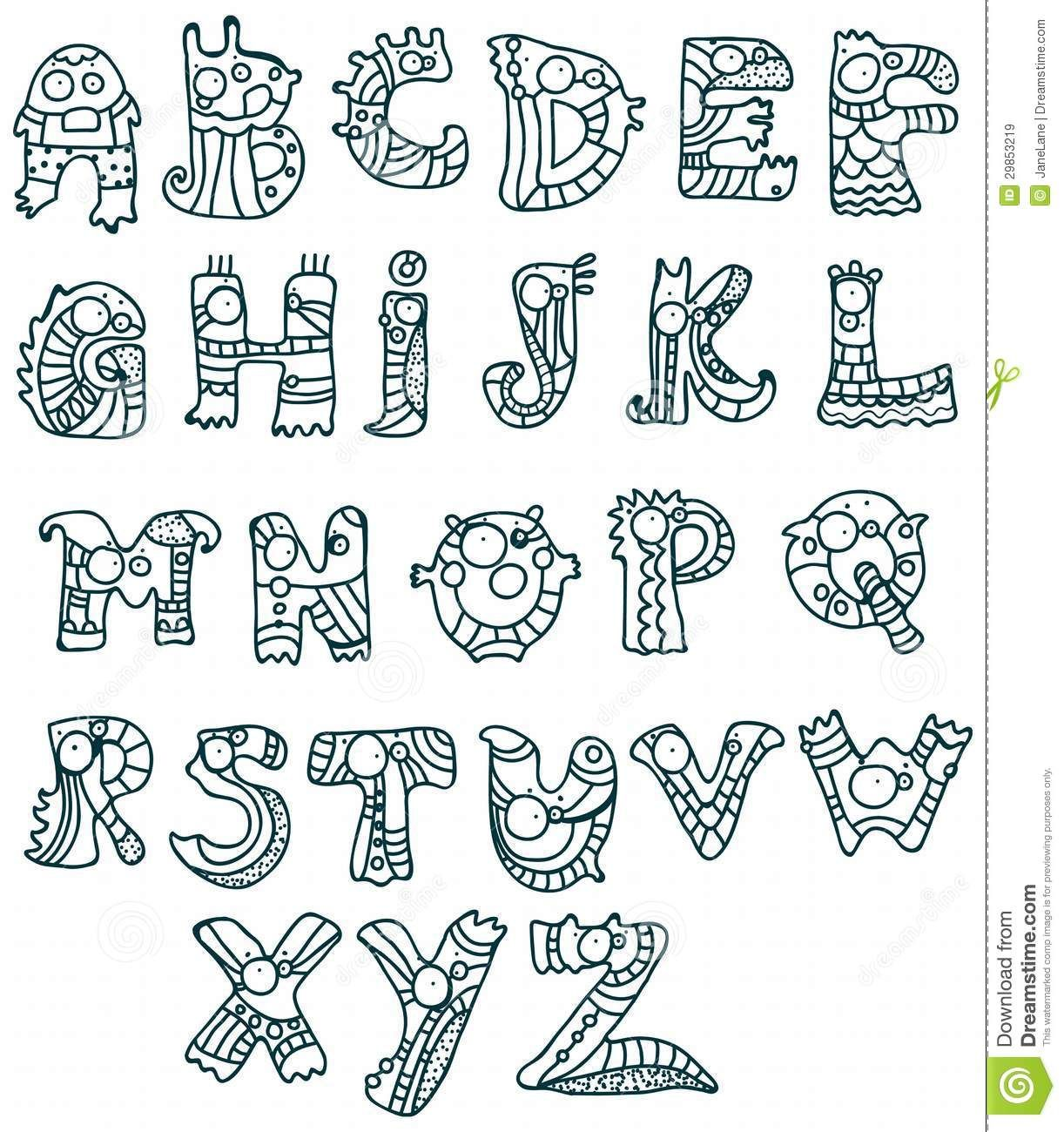 Cool Letters Drawing At Getdrawings Com Free For Personal