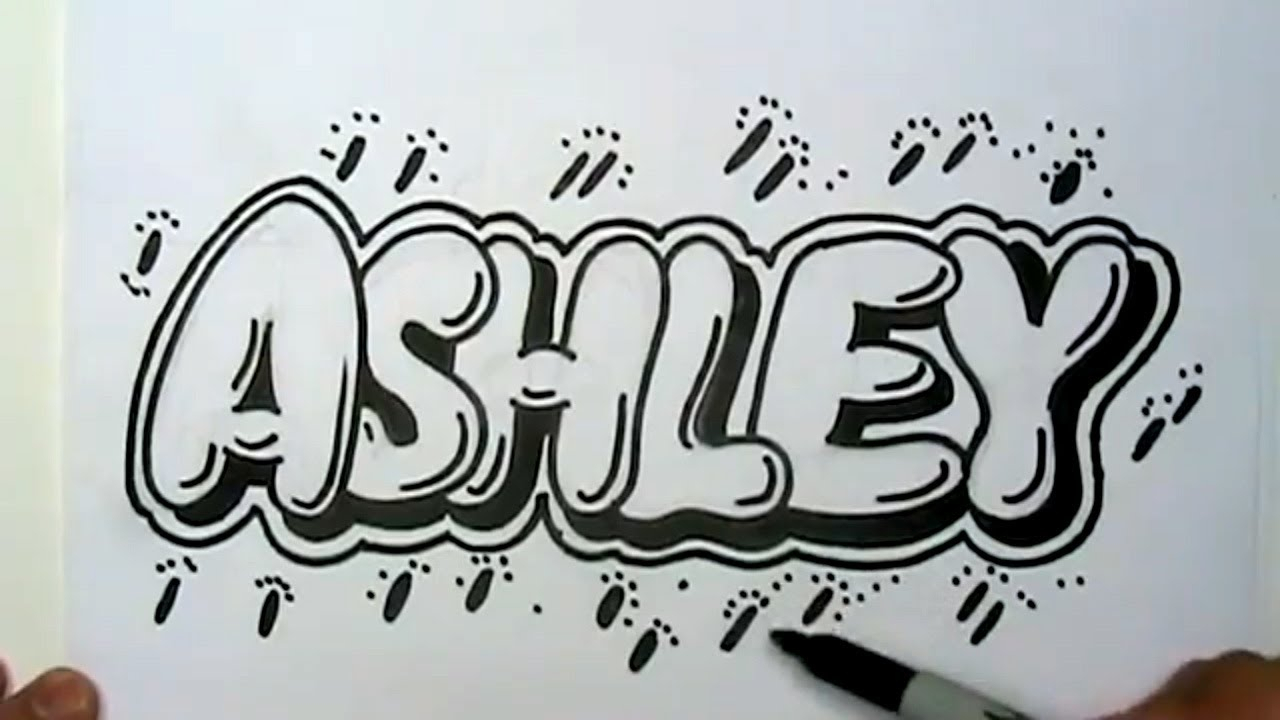 1280x720 Draw Your Name In Graffiti How To Letters