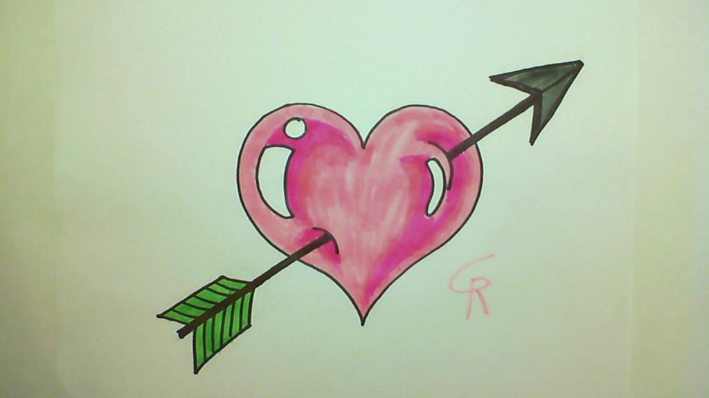 Cool Love Drawings Bulespenantlyco Enchanting Heart Cool Love