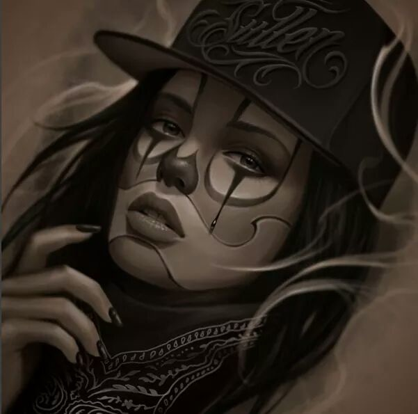 601x595 Mexican Girl Graphics Amp Art