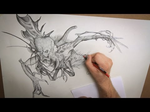 480x360 Monster Drawing Techniques