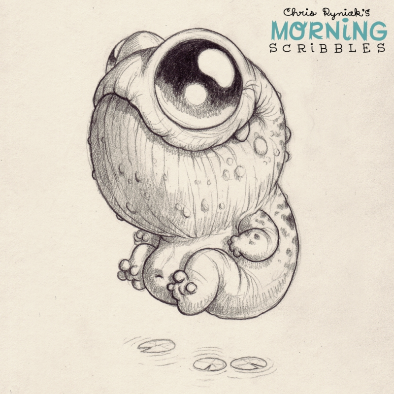 800x800 Morning scribbles #270 Just Plain Cool Monsters