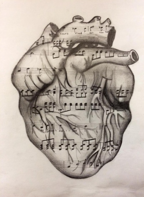 500x684 Love Drawing Art Black And White Cool Music Pencil Inspiration