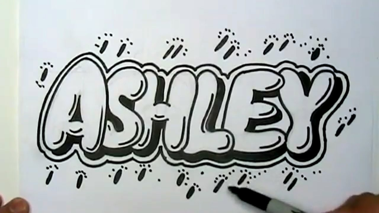 1280x720 Best Photos Of Draw Your Name Bubble Letters