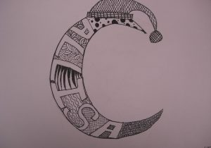 300x210 Cool Drawing Designs Names Drawing Tribal Name Tattoo Design
