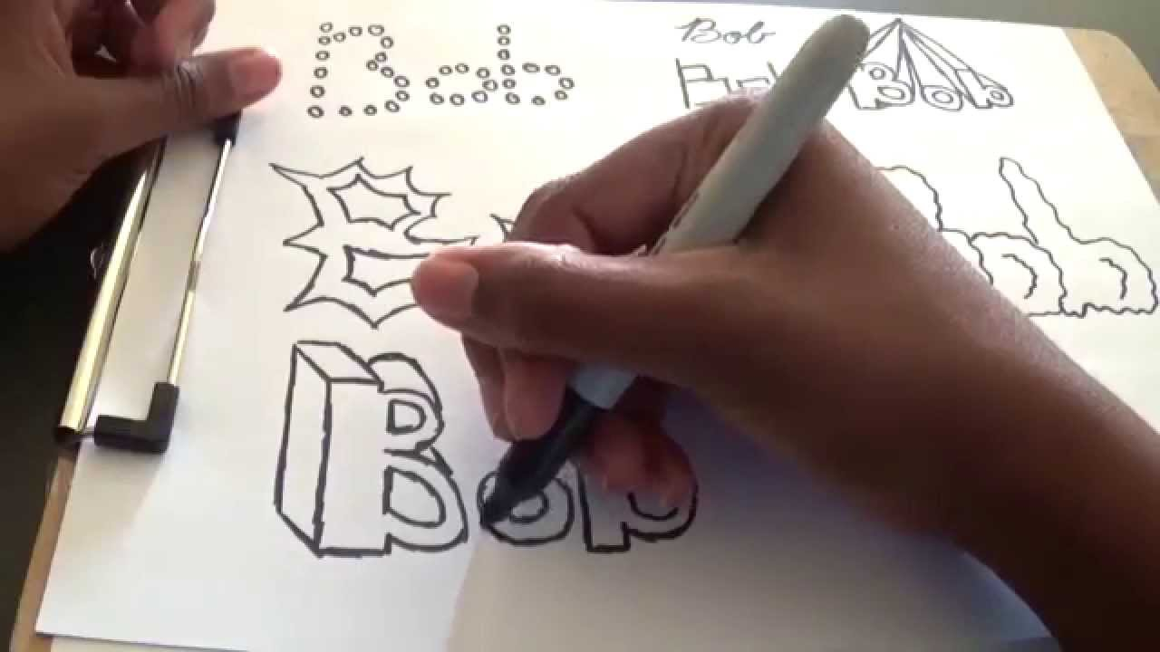 1280x720 Cool And Easy Ways To Draw Your Name