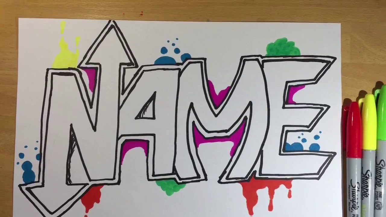 1280x720 Drawing Your Name [Hd