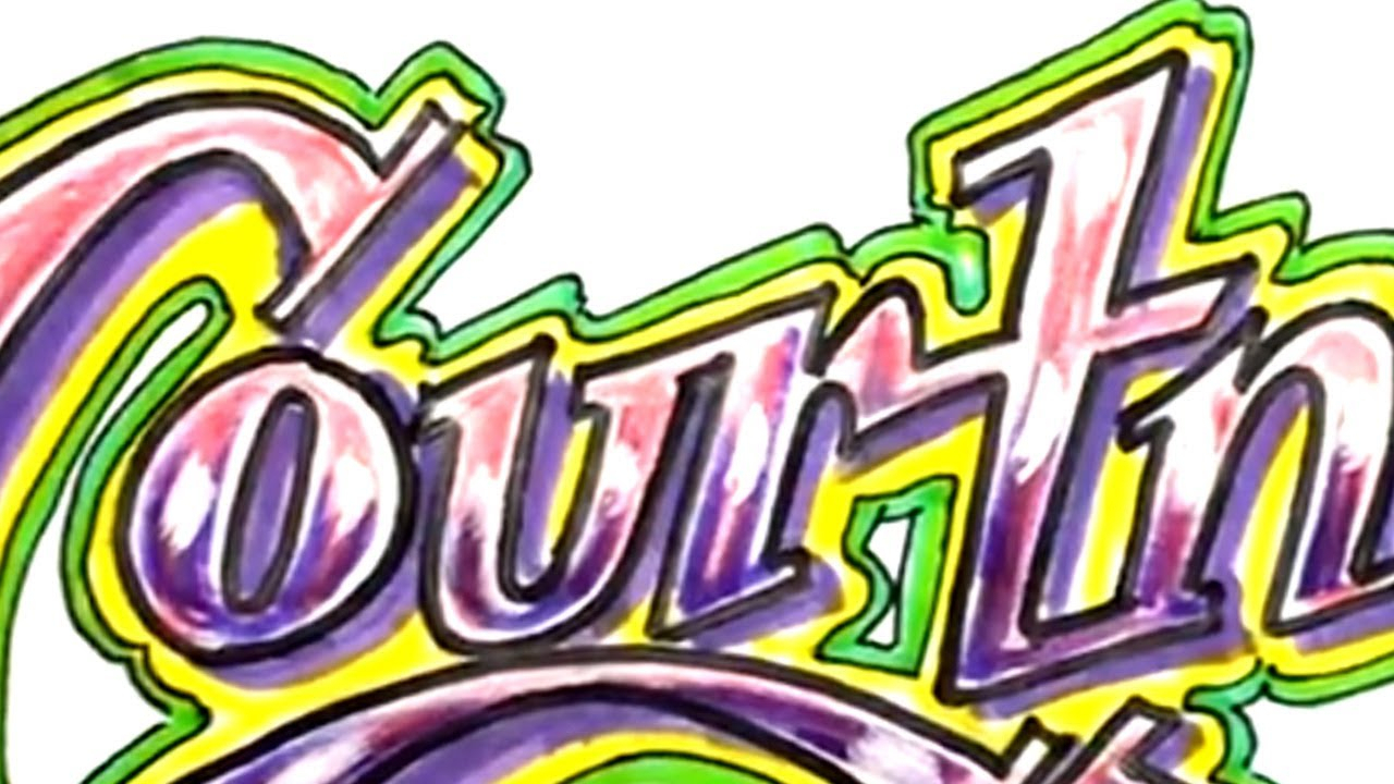 1280x720 The Name Courtney In Graffiti Cool Drawings Of Names Drawing