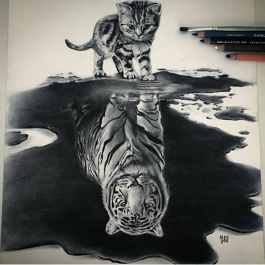 1080x1080 9 Cool Pencils Drawings By Daily Artistiq