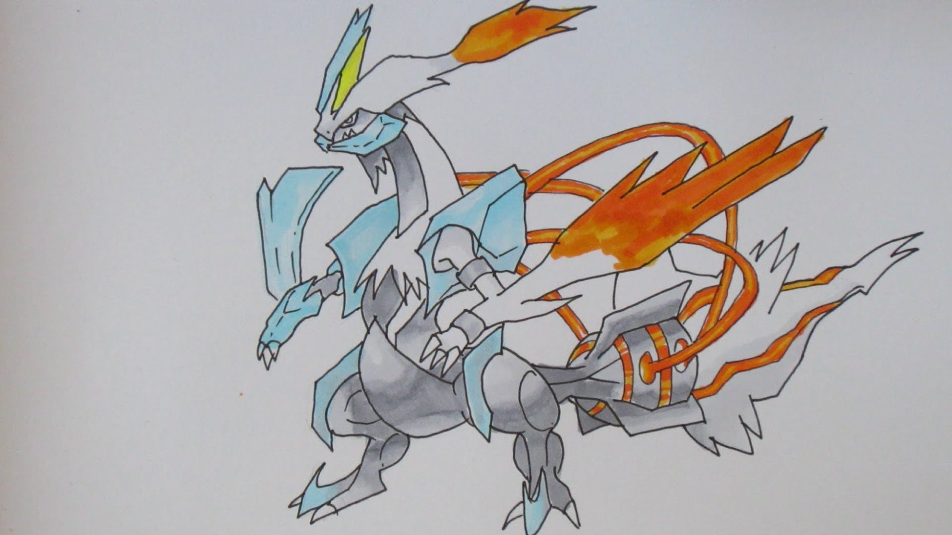 1920x1080 Cool Pokemon Drawings How To Draw Pokemon No.646 White Kyurem