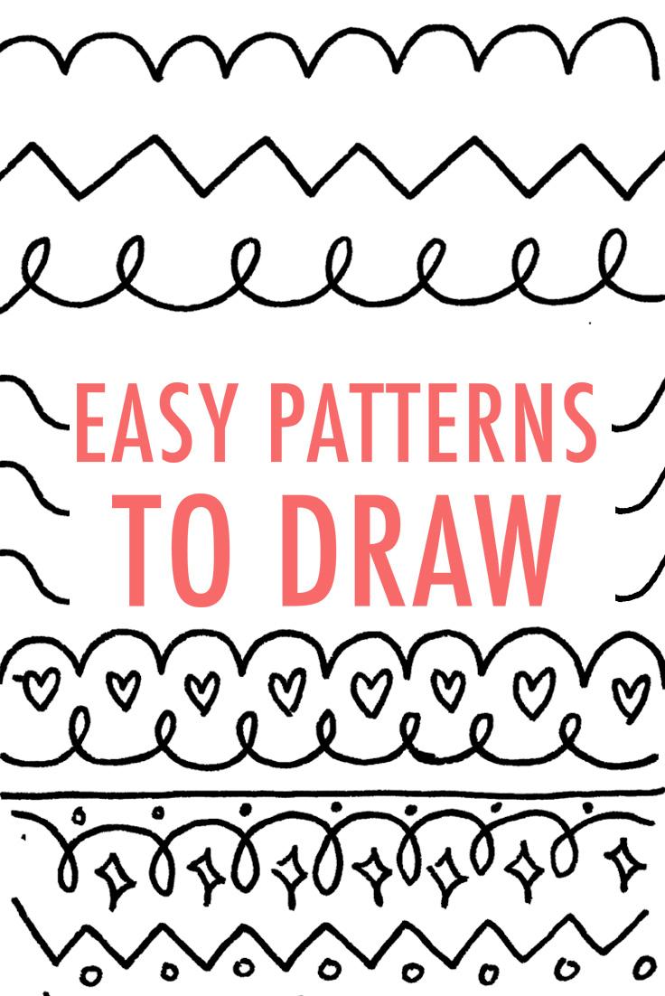 736x1102 Gallery Simple Drawing Designs,