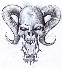 214x235 Image Result For Cool Skull Drawings In Pencil Skulls