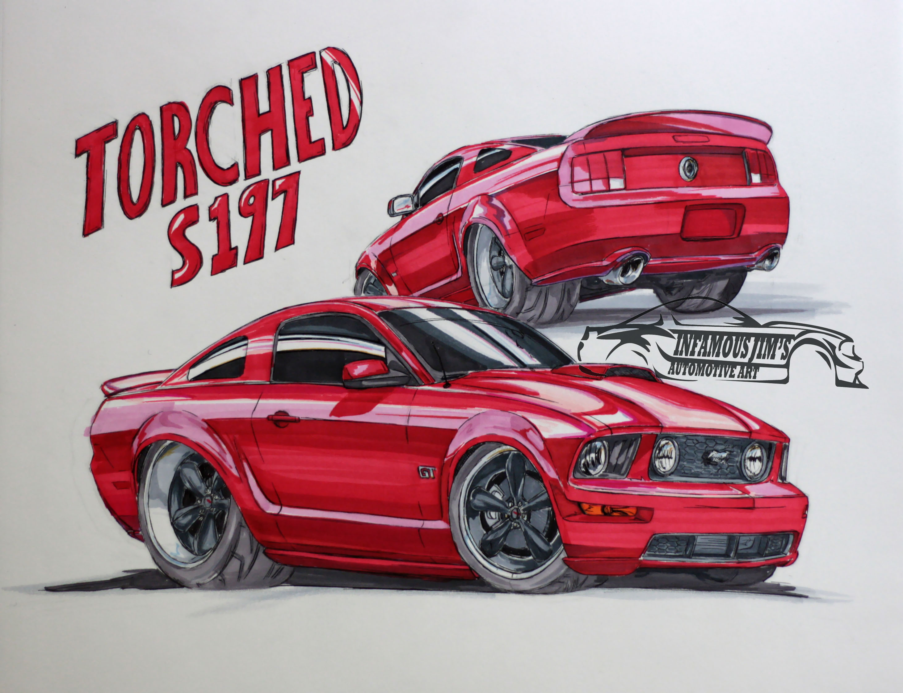 2924x2244 Drawing Infamous Jims Auto Art