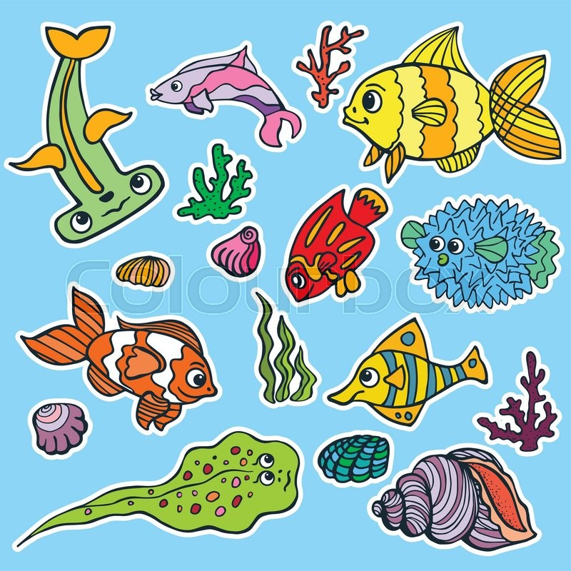 Coral Cartoon Drawing at GetDrawings.com | Free for personal use ...