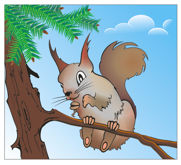 600x548 How To Make A Cheeky Squirrel Using Corel Draw X3
