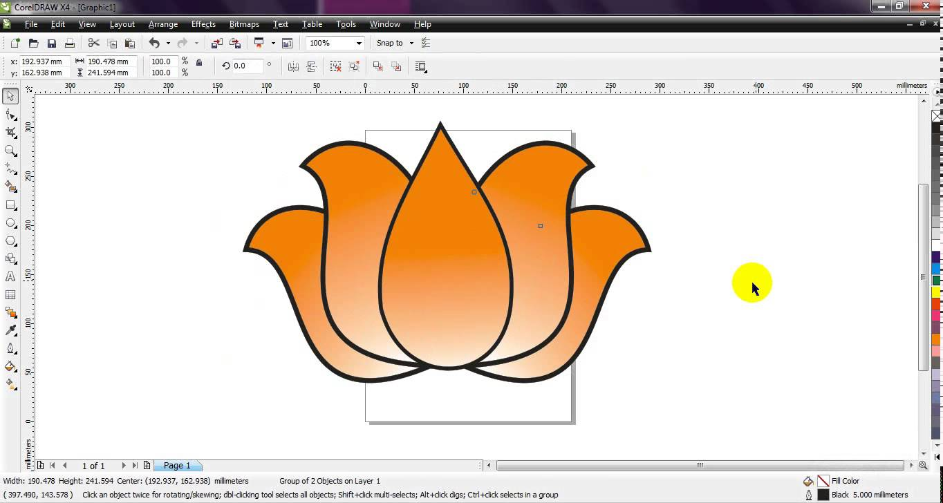 Coreldraw Drawing at GetDrawings com | Free for personal use