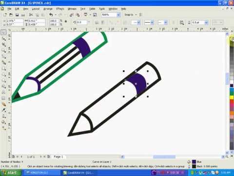 480x360 Corel Draw Tutorial For Beginners Corel Draw
