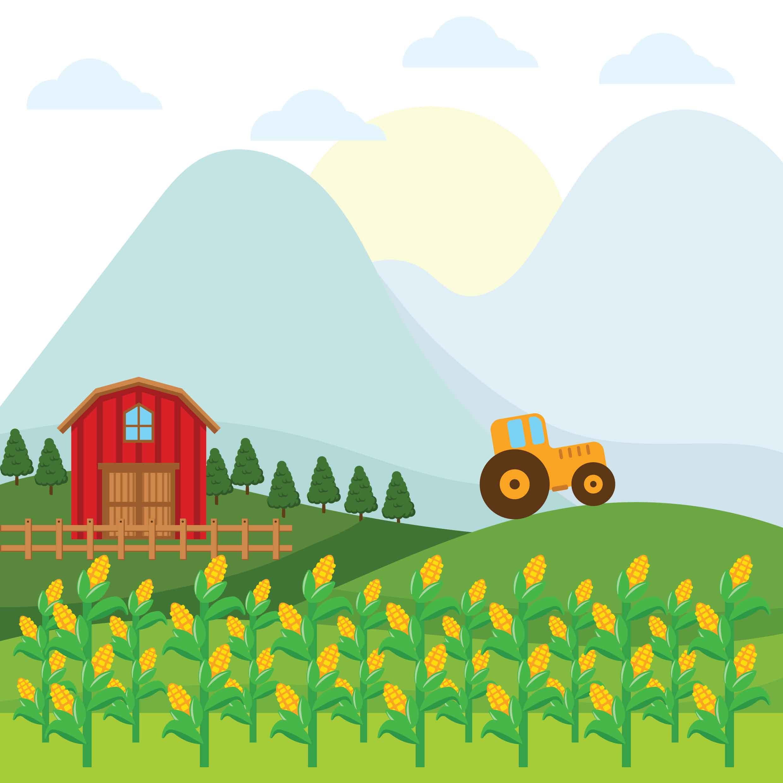 2480x2480 Corn Free Vector Art