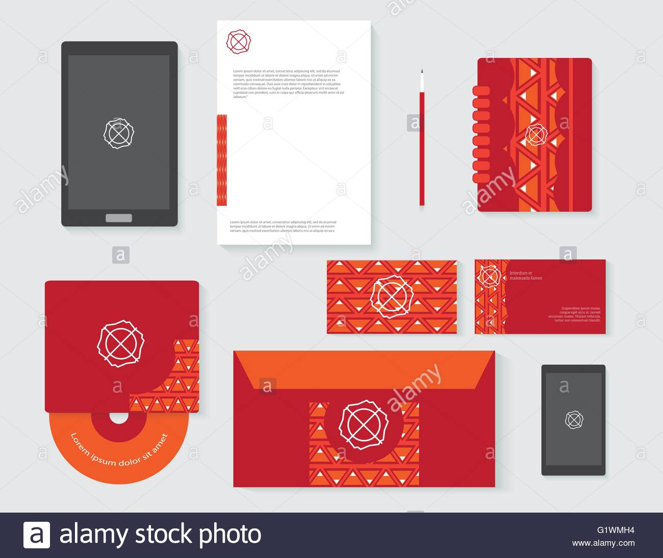1300x1094 Drawing Corporate Identity Template Design Business Stationery