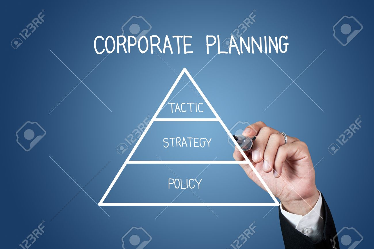 1300x866 Hand With Pen Drawing Corporate Planning On Whiteboard Stock Photo