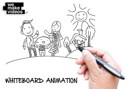 541x370 Whiteboard Drawing Animation