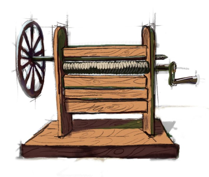 cotton gin coloring pages - photo#40