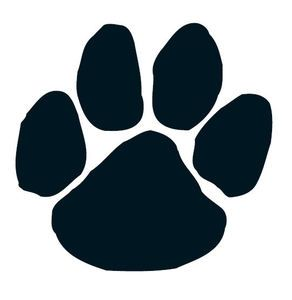 292x300 Ichs Cougar Paw Print. Go Cougars!!! Might Come In Handy
