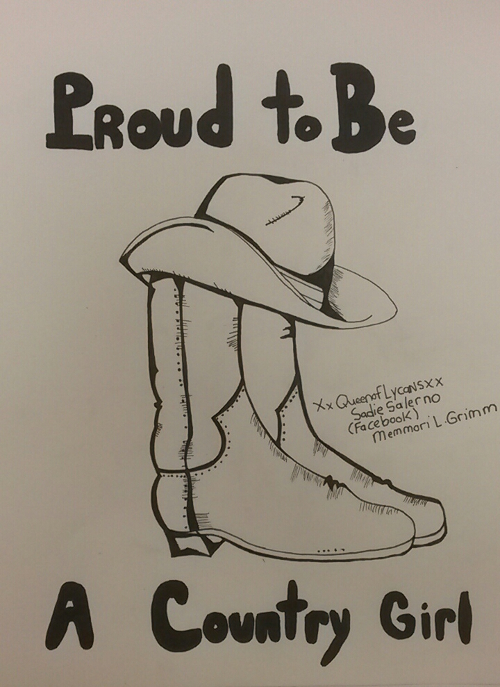720x989 Proud To Be A Country Girl By Xxqueenoflycansxx