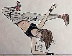 236x184 Hip Hop Dancer Sketch Hip Hop ~ Dance Hip Hop