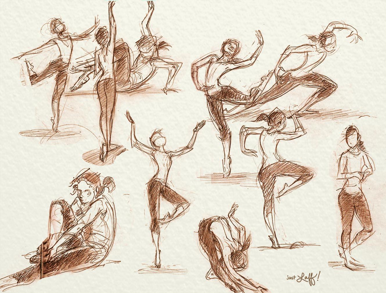 1330x1011 Inside The Beckaroo's Studio 06.17.13 Dancing Drawings!