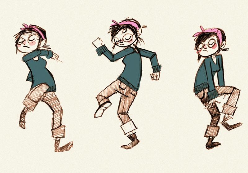 800x558 Quick Drawing Dancing Artichoke Kid
