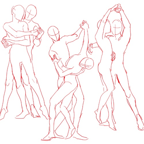 500x501 Couple Dancing Love Team Dancing, Couples And Drawings