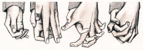 500x175 Photos Cute Couple Drawings Holding Hands,