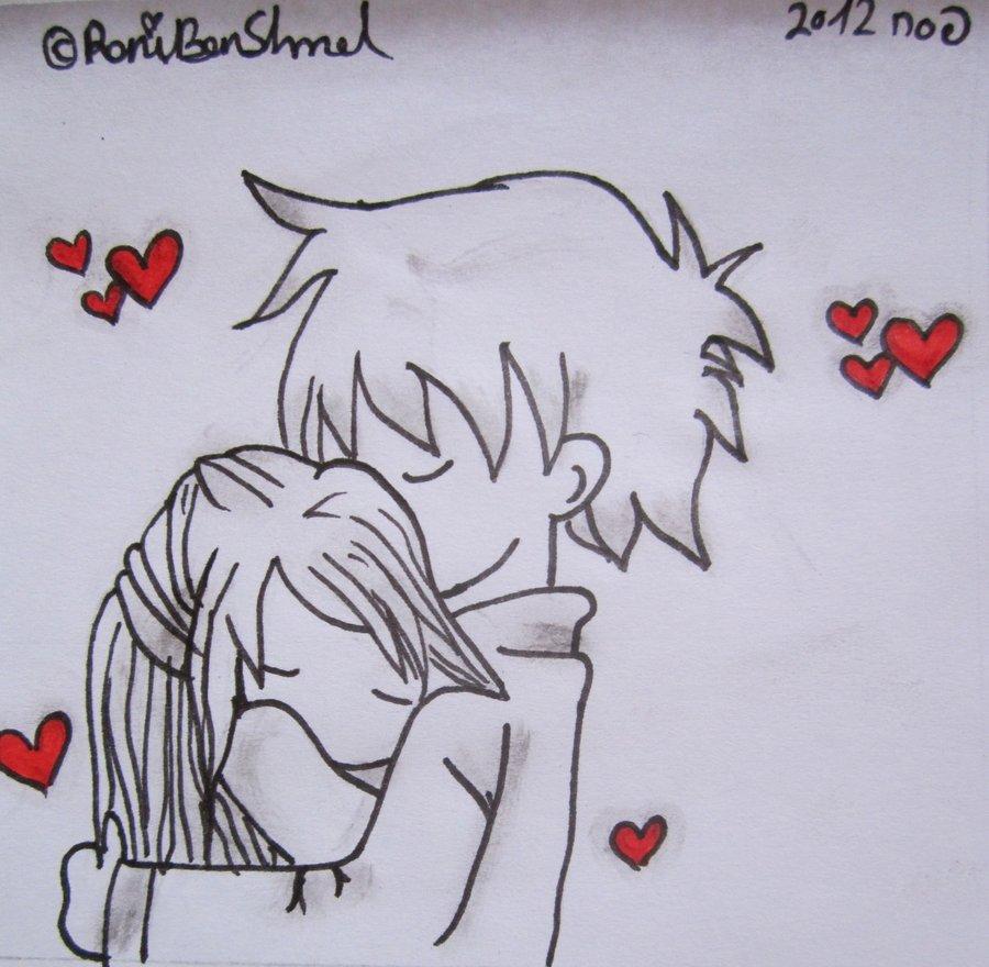 900x880 Cute Chibi Couple Hugging ^ ^ By Roniartforlife