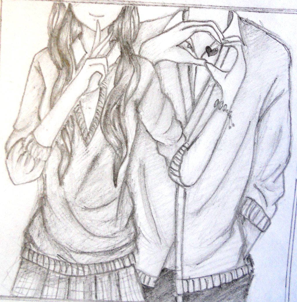 1024x1041 Couples Kissing Drawings Drawings And Sketches Of Cute Couples