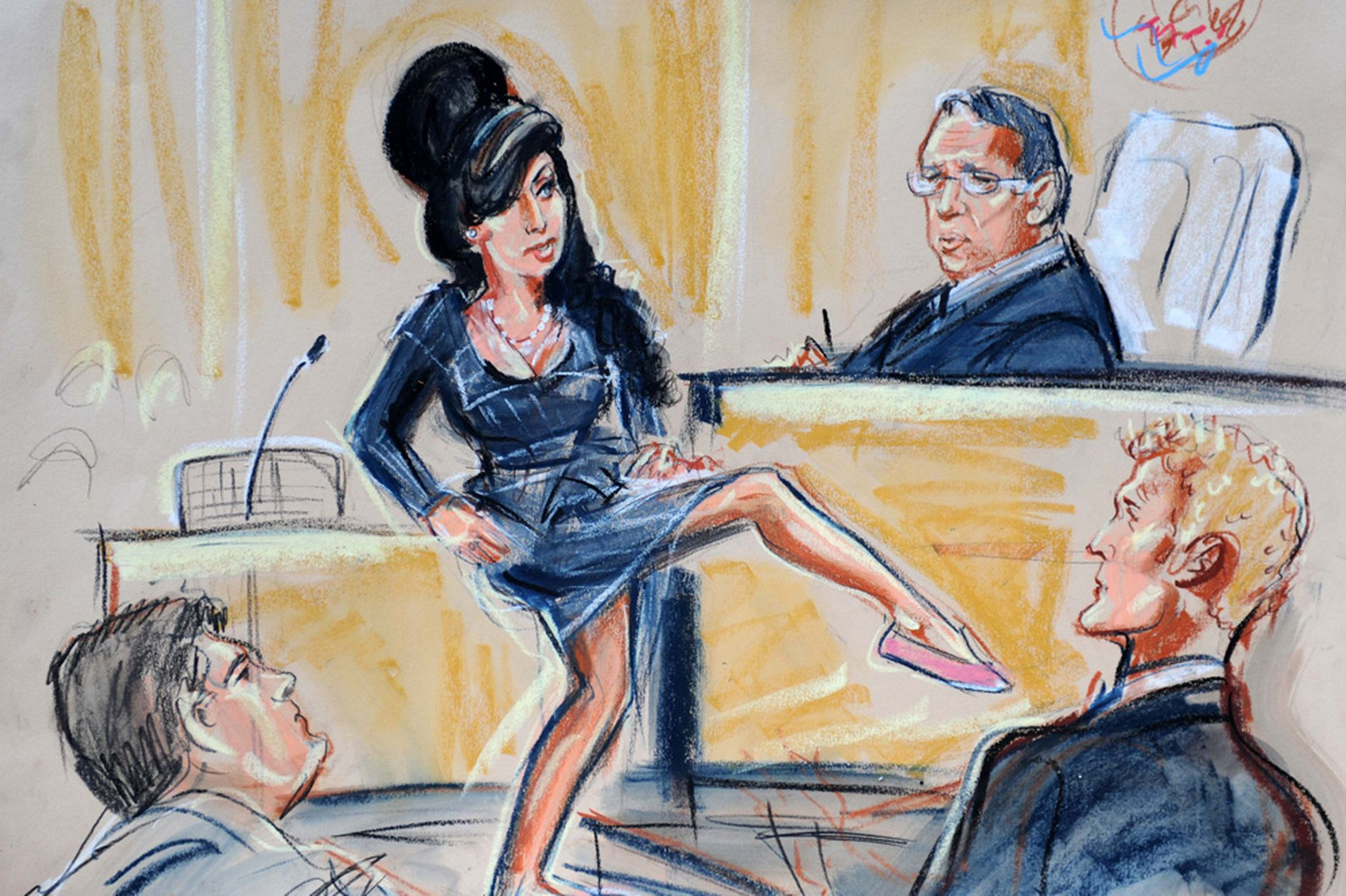 2197x1463 As Tv Trials Threaten To Kill Off Courtroom Sketches, We Look Back
