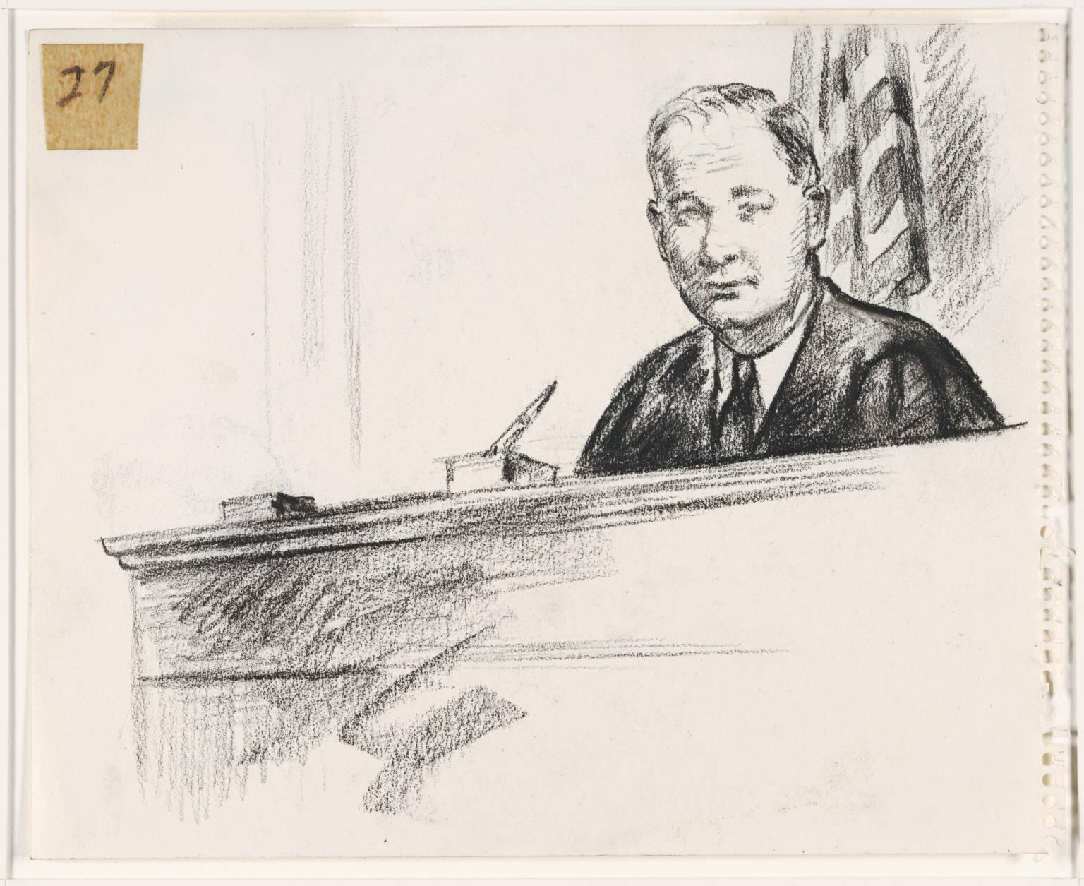 1536x1255 Fileoil Pastel (Black) Sketch Of Superior Court Judge Harold M