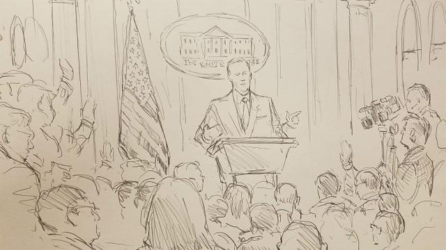 640x360 Cnn Brings Courtroom Sketch Artist To White House Press Briefing