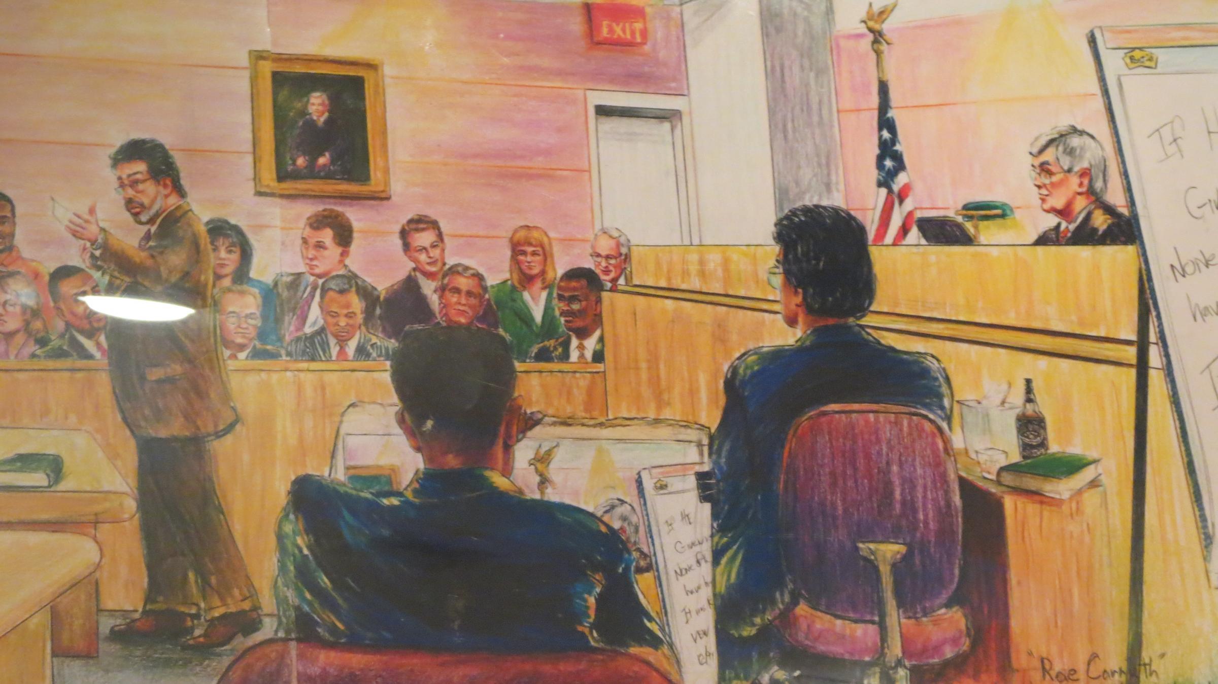 2400x1349 Jerry Mcjunkins Charlotte's Courtroom Sketch Artist Wfae